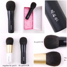 Koyudo 晃祐堂 for CDJapan Beauty limited-edition Gray Squirrel Powder Brush Sonia Kashuk Brushes, Circular Motion, Make An Effort, February 2016, Shake It Off, Powder Foundation, Face Powder, Easy To Use, Makeup Products