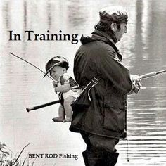 Baby angler in training Fishing Life, Gone Fishing, Fishing Stuff, Trout Fishing, Bass Fishing, Pesca Spinning, Fishing Pictures, Fishing Quotes, Fish Camp