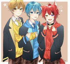 Kawaii Anime, Cute Anime Chibi, Cute Anime Boy, Friend Anime, Anime Best Friends, Anime Wolf Girl, Anime Child, Anime Friendship, Anime Poses Reference