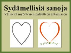 Myönteistä palautetta ryhmälle sydämellisin sanoin ja runoin | RyhmäRenki Sensory Play, Occupational Therapy, Social Skills, Mental Health, Encouragement, Mindfulness, Positivity, Teacher, Valentines