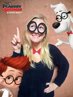 Printable Glasses and Bow tie Mr. Peabody and Sherman Free Printables, Activities, Coloring Pages, Recipes and more | SKGaleana