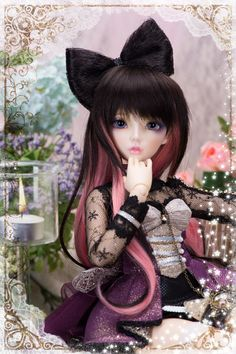 NEW BJD MiniFee Celine at FairyLand Ball Joint Doll Shopping Mall  This is the face I want, Celine. Gorgeous!