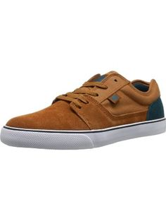 hot sale online 5052d c431d DC Men s Tonik Skate Shoe, Brown Emerald, 6 M US ❤ DC Shoes