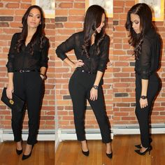 all black outfits for women | LITTLE BIT OF LACQUER