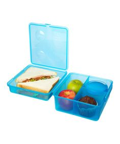Another great find on #zulily! Solid Blue Max Lunch Cube #zulilyfinds