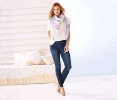 Treggings für 17,95€ -Komfortabel und formbeständig aus weicher Baumwoll-Stretch-Qualität.