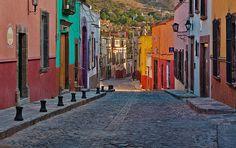 Streetscene, San Miguel de Allende, Mexico