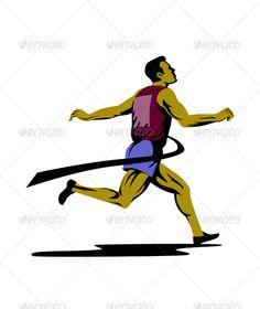 Realistic Graphic DOWNLOAD (.ai, .psd) :: http://jquery-css.de/pinterest-itmid-1003230845i.html ... Marathon Runner Athlete Running Finish Line  ...  Triathlete, artwork, athlete, exercise, finish line, graphics, illustration, jogger, jogging, male, man, marathon, physical fitness, retro, run, runner, running  ... Realistic Photo Graphic Print Obejct Business Web Elements Illustration Design Templates ... DOWNLOAD :: http://jquery-css.de/pinterest-itmid-1003230845i.html