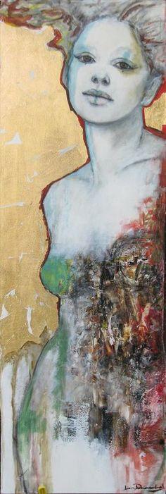 Kate - Joan Dumouchel - Galerie d'art Iris, Baie-Saint-Paul - Charlevoix