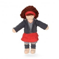"Anna is Fair Trade made in India with cotton and stuffed with pure wool. 16"" tall. $69.95"