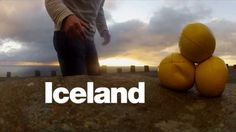 Guy Goes To Iceland And Makes Gorgeous Video Of Himself Juggling