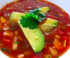 Tropical Gazpacho Recipe from Whisked Foodie | Whisk up something delicious.