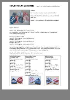 Crochet Baby Hats Free Pattern, Baby Cardigan Knitting Pattern Free, Baby Booties Free Pattern, Baby Hats Knitting, Baby Knitting Patterns, Baby Patterns, Knit Hats, Hand Knitting, Crochet Hats
