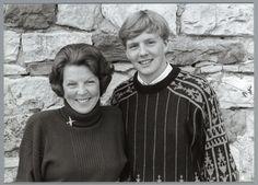 Koningin Beatrix en Kroonprins W Alexander (NL)