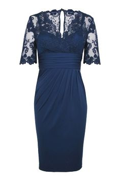 Product - Alexon 3/4 Sleeved Lace Top Dress