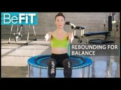 Rebounding Workout for Balance & Rejuvenation: BeFiT- Fayth Caruso - YouTube