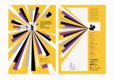 Columbia Film Festival Poster.