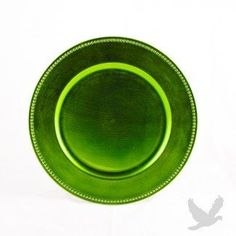 6534ae18fb Lime Green Charger Plates BULK Plates)   Wholesale Wedding Supplies