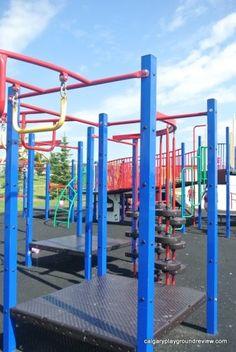 Panorama Hills School Playground - calgaryplaygroundreview.com Spray Park, Water Spray, Playgrounds, Calgary, Elementary Schools, Playground Slide, Primary School, Primary Teaching