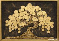 Панно. Оригинальный подарок Денежное дерево купить Украина — SKRYNYA.UA