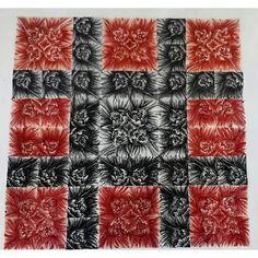 #myart #Simmetria #art #flowers #redblack #mywork