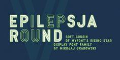 Epilepsja Round font download