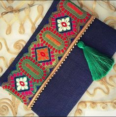 Boho bag ethnic clutch women bag christmas gift by BOHOCHICBYDAMLA