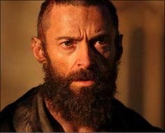"""December 7, 2012 will be an early Christmas present!  """"Les Miserables"""" the stage musical adapted to a film starring Hugh Jackman as Valjean!  First glimpse of Hugh!  #hughjackman #broadway #musical #lesmiserables #film"""