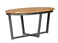 Ovale Form  Tischbeine aus Eisen - schwarz  Industrial Design
