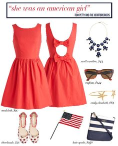 """""""She was an American Girl"""" // 4th of July Style"""
