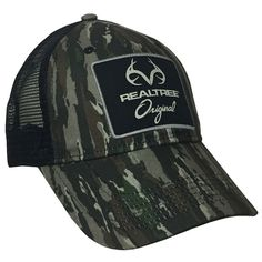 62c4dc549 Limited Edition Custom Pro Staff Realtree Original Camo Mesh Back Hat
