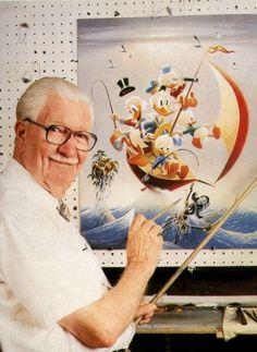 Carl Barks er ham der har opfundet Anders and. Man kan godt sige at jeg er fan af ham