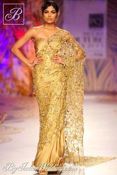 Gaurav Gupta designer saree collection