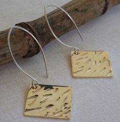 Earrings Jewelry Modern Sterling Silver by maryannefountain