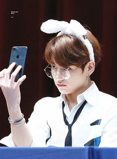 Our jungkook really took selfies, but he tweets once in 60day:(( whyyy