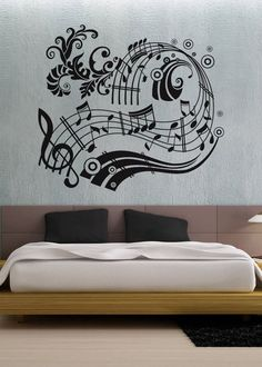 pretty awesome music decor - Okay so it's not for a table - It's beautiful!!