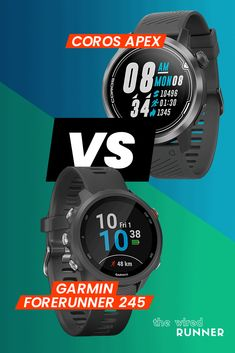 COROS Apex Vs Garmin Forerunner 245 - Which Watch Is Right For You? Workout Gear, Fun Workouts, Fitness Tracker, Fitness Tips, Running Gps, Gps Watches, Indoor Rowing, Gifts For Runners, Cute Leggings