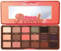 Two Faced Sweet Peach Eye Shadow Collection Giveaway