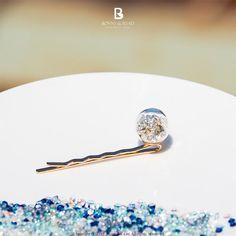 Bonny & Read 平價飾品 - 晶透珍珠泡泡髮夾 / Ore Hair Clip