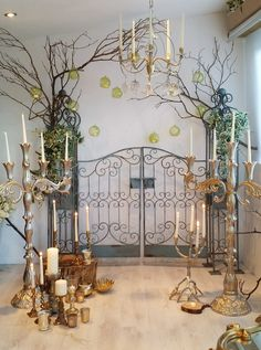 Hire candelabra from an extensive collection at Cotswold Vintage Party Hire, add individual brass or glass candlesticks, tea light & holders & lanterns Glass Candlesticks, Candelabra, Enchanted Wood, Party Hire, Wedding Entrance, Winter Wonderland Wedding, Vintage Party, Tea Light Holder, Party Fashion