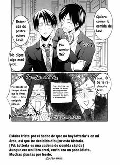 Read Conquistando A Eren from the story Ereri/Riren Doujinshis Y Mas :v© by (Lilia Cruz with reads. Ereri, Eren E Levi, Attack On Titan Ships, Attack On Titan Levi, Wattpad, Nerd Problems, Comics Love, Totally Spies, Rainy Night