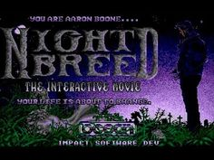 AtariCrypt: Nightbreed - The Interactive Movie Dragon's Lair, David Boreanaz, Horror House, I Dare You, First Game, The Vamps, Dark Night, Back In The Day, Film