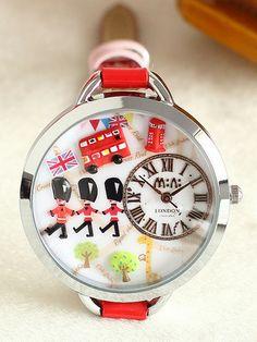 One day in London Mini watch