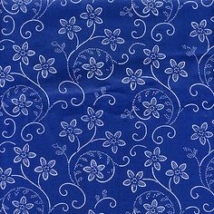 Kekfesto Cotton: Hand-dyed blue print fabrics from Hungary Textile Pattern Design, Textile Patterns, Textiles, Print Patterns, Fabric Design, Hand Embroidery Designs, Embroidery Patterns, Paper Quilt, Fabric Paper