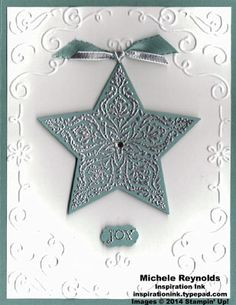 Bright & Beautiful Framed Star Joy by Michelerey - Cards and Paper Crafts at Splitcoaststampers