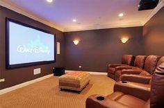 A multi-use media room. #Dreamhome