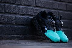 Ronnie Fieg did an exceptional job on these Puma Disc Blaze. #sneakers