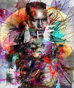 "Saatchi Online Artist yossi kotler; New Media, ""grace"" #art"