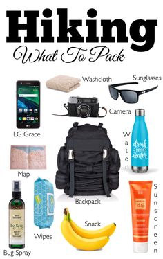 Hiking ~ What To Pac