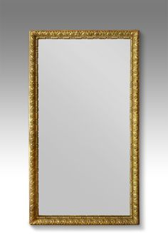 19th century French gilt full length floor standing mirror. Foliate carved giltwood frame. This versatile piece looks fantastic positioned on the floor leaning against a wall for use as a dressing mirror, or would make a statement hung landscape as an overmantel mirror.  Circa. 1880 Antique Bedside Tables, Antique Bedroom Furniture, Gallery Wall Staircase, Floor Standing Mirror, Full Mirror, Antique Wardrobe, Overmantle Mirror, Dressing Mirror, Jewelry Stores